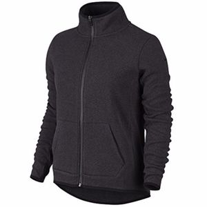 Nike Gray Hypernatural Training Full Zip Jacket S